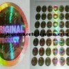 Stiker Hologram Original Product Emas 1