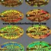 STIKER SEGEL QC PASS OVAL