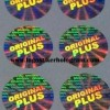 Stiker Hologram Original Plus