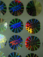 stiker hologram original product